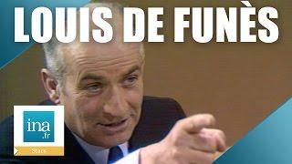 Quand Louis de Funès rencontrait le patron de la gendarmerie   Archive INA