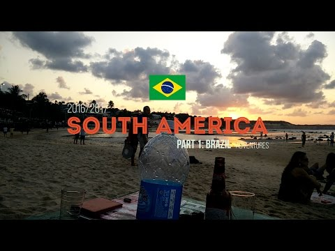 Brazil | South America | travel video's part 1