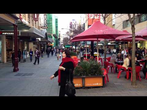 Adelaide. Rundle Mall.