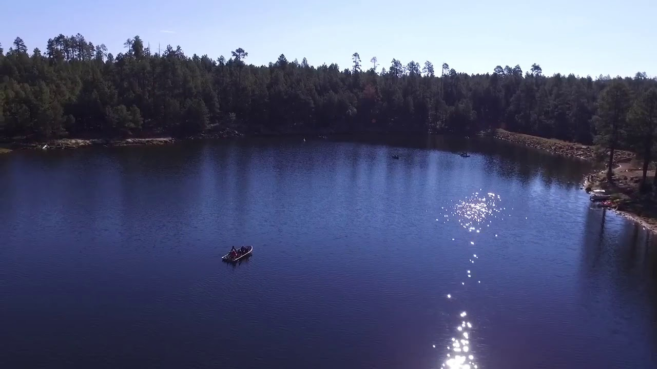 Drone of serene life woods canyon lake the mogollon rim in woods canyon lake the mogollon rim in arizona publicscrutiny Image collections