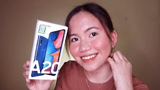 SAMSUNG GALAXY A20 UNBOXING & FIRST IMPRESSIONS