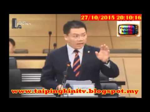 PANAS! Bajet 2016: YB Nga Kor Ming Kritik BN Potong Subsidi Rakyat!