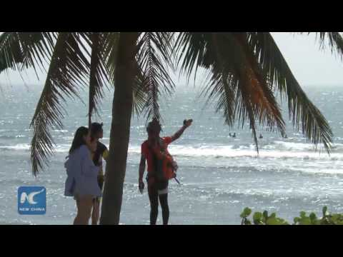 Best of Surfing Hainan Open, held in south China