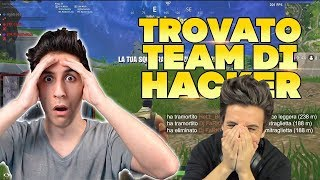 """I FOUND A TEAM OF HACKERS"" REACTION 6 MONTHS LATER! Fortnite ITA"