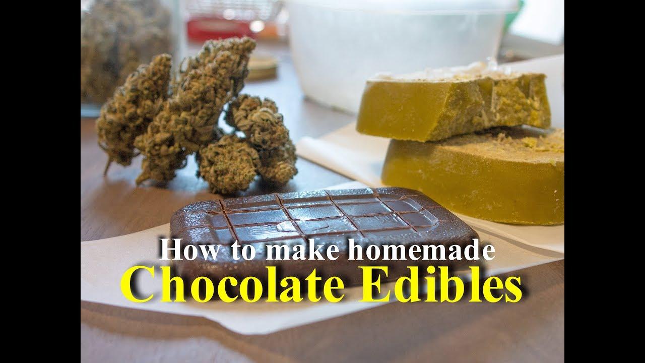 Homemade Cannabis Chocolate Bar Recipe   THCFarmer