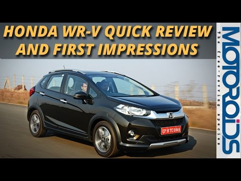 Honda WR-V First Drive Review and First Impressions India