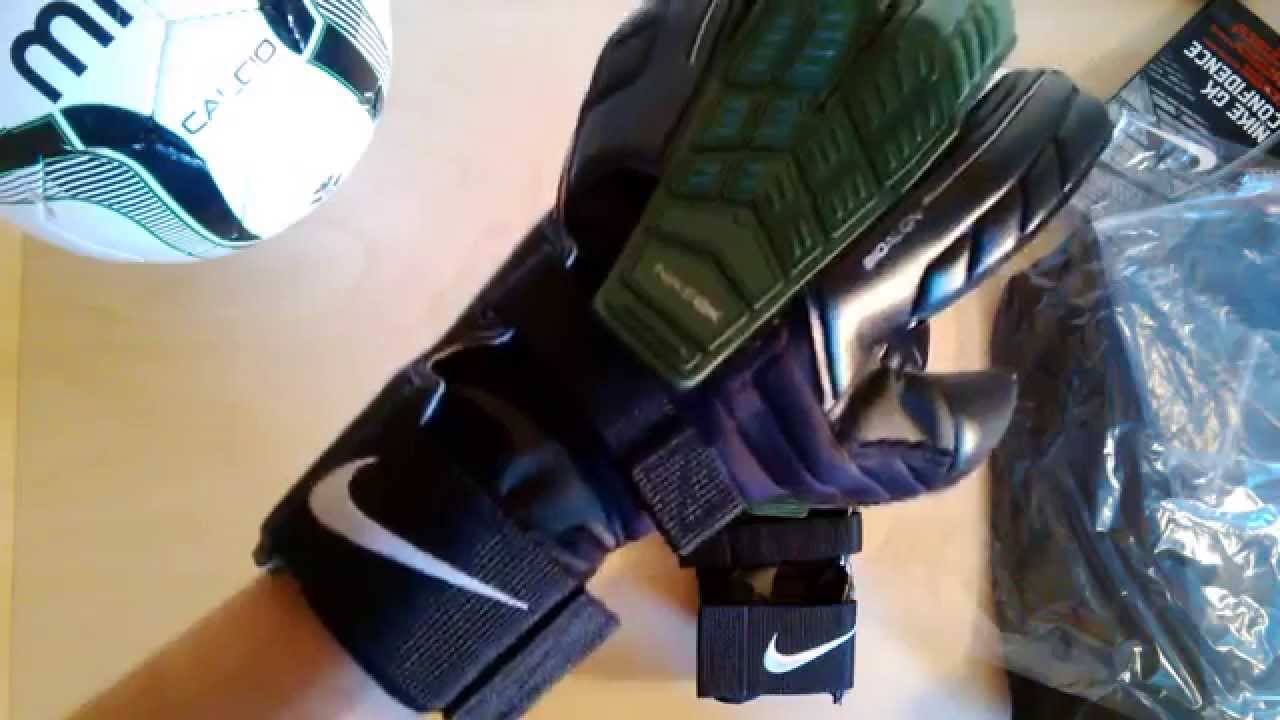Black nike goalkeeper gloves - Nike Confidence Goalkeeper Gloves Preview Black Green
