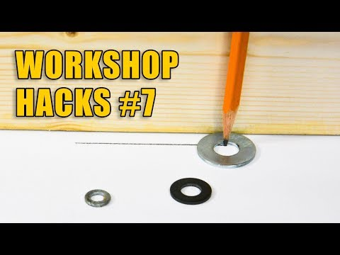 DIY Workshop Hacks Part 7: Woodworking Tips and Tricks