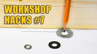DIY Workshop Hacks Part 7: Woodworking Tips and Tricks
