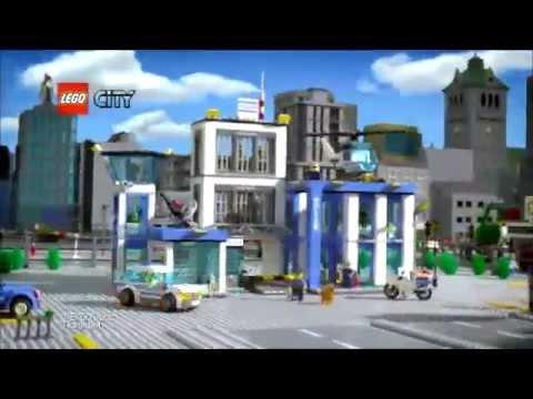 лего сити  60047 полицейский участок (реклама в россий)