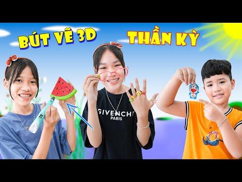 Cây Bút Thần   Bút Vẽ 3D ♥ Min Min TV Minh Khoa