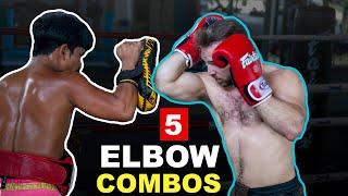 5 Devastating Muay Thai Elbow Combos