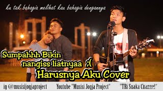 Download HARUSNYA AKU - armada COVER BY TRI SUAKA !!! SUMPAH BIKIN MEWEK LIATNYA