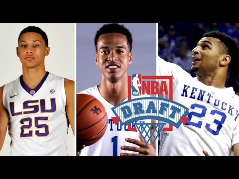 2016 NBA Mock Draft 1.0: Skal Labissiere Ben Simmons Jamal Murray