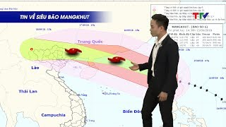 Cập nhật hướng đi mới nhất của cơn bão số 6 – Siêu bão Mangkhut | Dự báo thời tiết ngày 15/9/2018