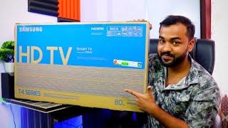Best Smart TV Under 15000 Rs | Samsung 32 inch Smart TV Model UA32T4350AKXXL | Unboxing & Review 🔥🔥🔥
