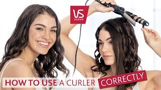 How To Curl Hair With A Curling Wand | VS Sassoon