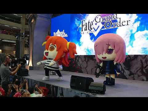 2018 漫博 8/19 FGO 舞台 cosplay 走秀 part3