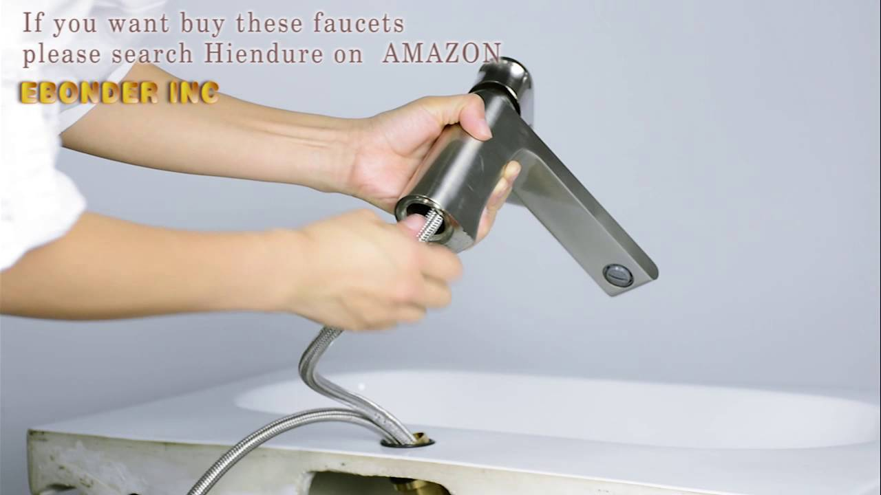 Hiendure single hole single lever mixer taps how to install faucet ...