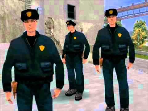GTA III Pedestrian Quotes: Police and SWAT
