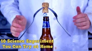10 Science Tricks You Can Try at Home