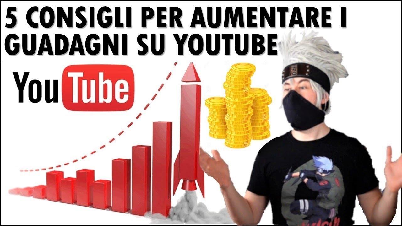 come guadagnare con youtube 2021 btc siti di scommesse