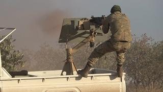 أخبار عربية: قتلى من داعش في معارك مع الجيش الحر داخل مدينة الباب بحلب