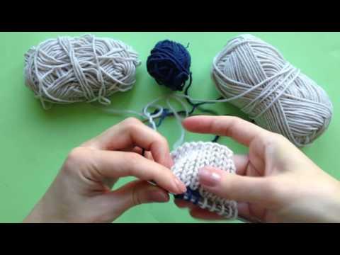 Интарсия вязание спицами