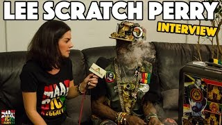 Interview with Lee Scratch Perry in Berlin @ Reggaeville Easter Special 2016
