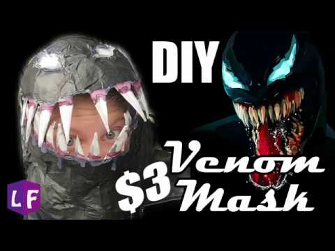 VENOM MASK:DIY