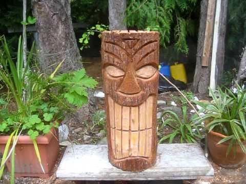 Tiki For A Palm Tree Youtube