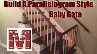 Build A Parallelogram Style Baby Gate - 035