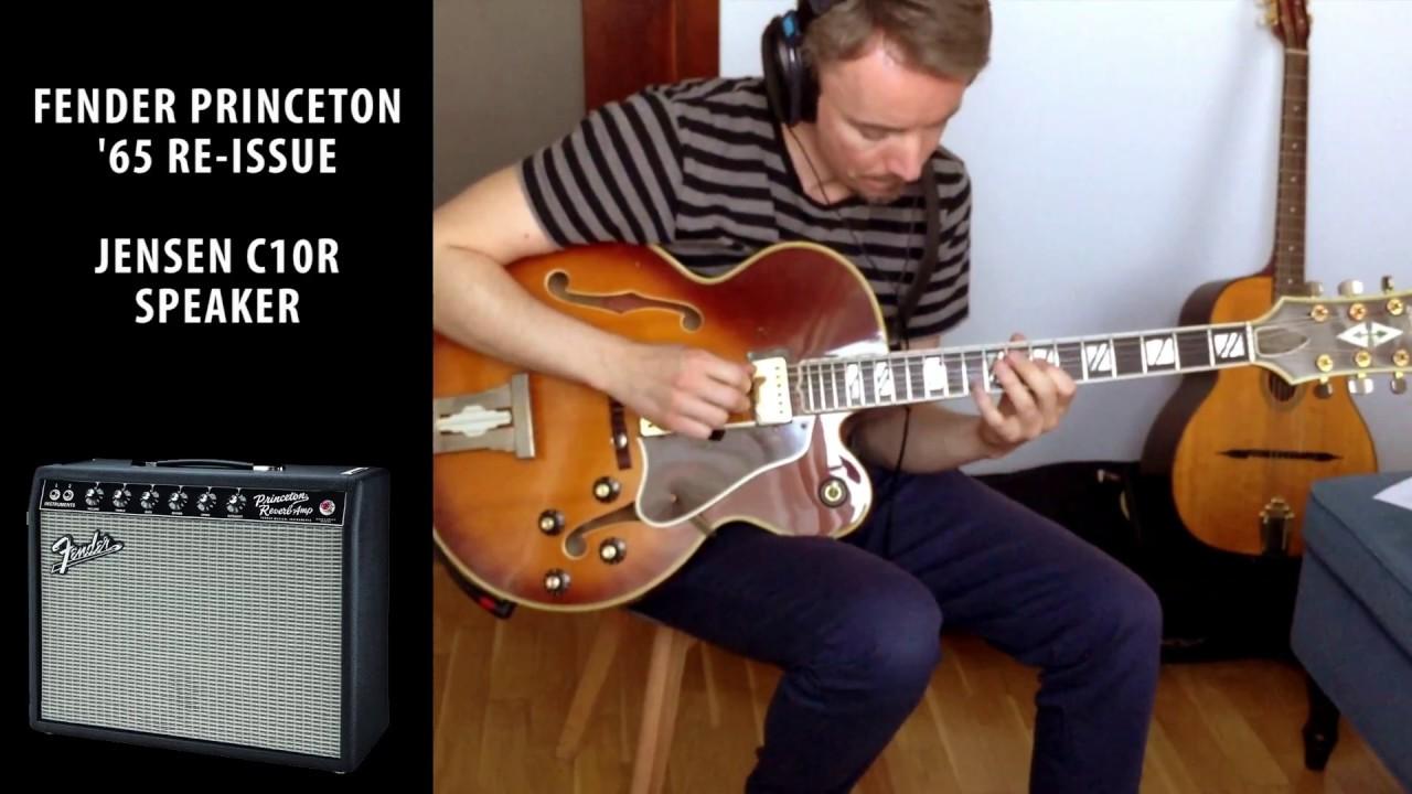 fender princeton 65 vs henriksen jazzamp for jazz guitar youtube. Black Bedroom Furniture Sets. Home Design Ideas
