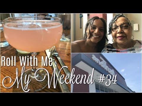 RWM: My Weekend #34   I'm Out Here In These Streets & I Got My Momma With Me...Lol