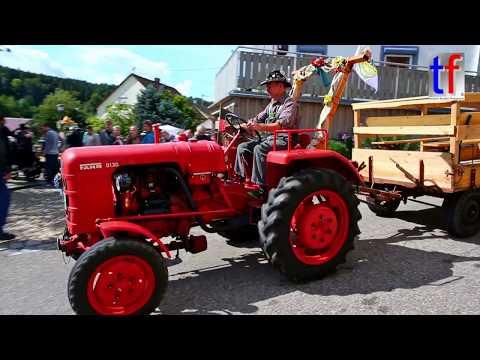 **Oldie but Goodie** FAHR D130 Tractor Passenger Transport, Berglen, Germany, 2017.