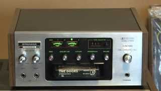 Pioneer H R100 Stereo 8 Track Player Recorder Tape Deck