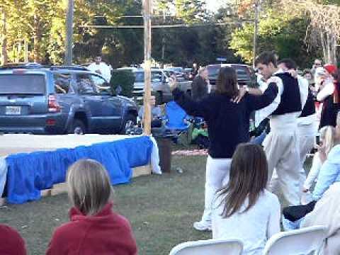 Tallahassee Greek Food Festival 2011 - Dancing Practice