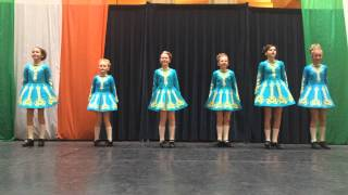 rince nua blue team hard shoe treble reel day of irish dance 2015