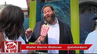 Olafur Darri Olafsson THE MEG Premiere