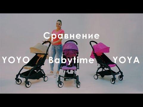 Сравнение коляски YOYA, Babyzen YOYO и Babytime. Лайфхак - как сэкономить деньги без потери качества