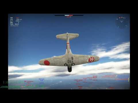 War Thunder Japan Airplanes tier2