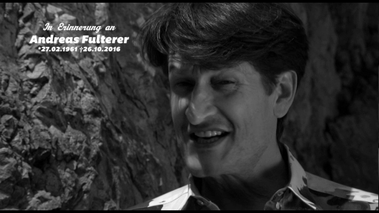 """Andreas Fulterer Abschiedsbrief andreas fulterer - farbenleer (musikvideo) """"in erinnerung an"""