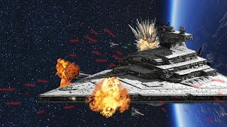The Best Star Wars Space Battles