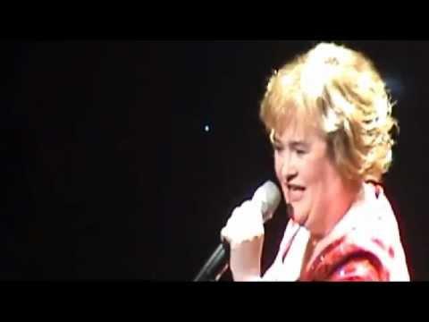 SUSAN BOYLE -Susan Boyle sings at Theatre Royal Newcastle by Gordon Barr
