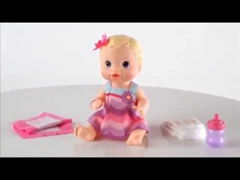 Baby Alive Bitsy Burpsy Baby Doll Hasbro Youtube