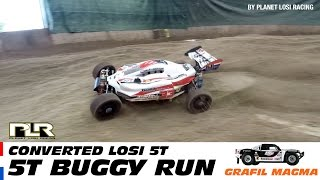 Losi 5ive-T buggy testdrive during Hell of Holten
