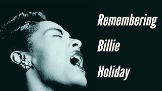 Remembering Billie Holiday on 52nd Street