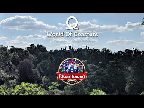Alton Towers Vlog - July 2018