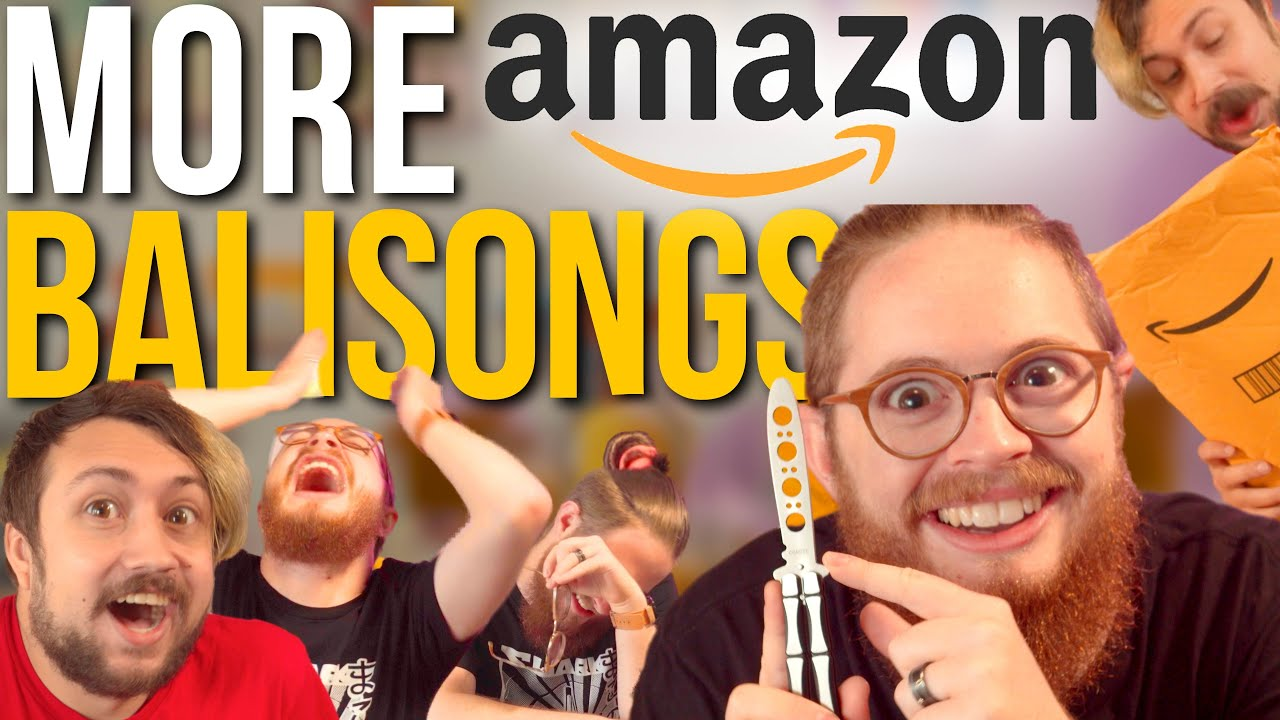Download MORE Cheap Knives From AMAZON!!! - Balisong Unboxing Ep. 2