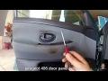 peugeot 406 door panel removal